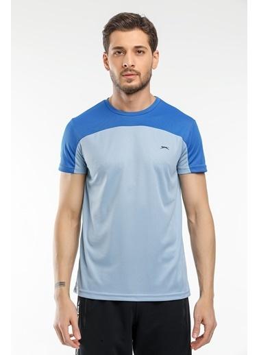 Slazenger Slazenger RESIST I Erkek T-Shirt  Mavi